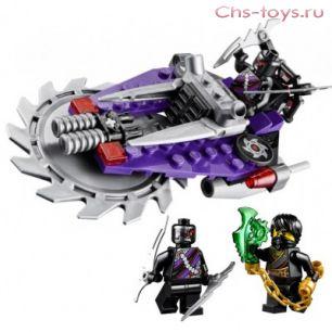 Конструктор Bela Ninja Летающий охотник 10218 (Аналог Lego Ninjago 70720) 79 дет