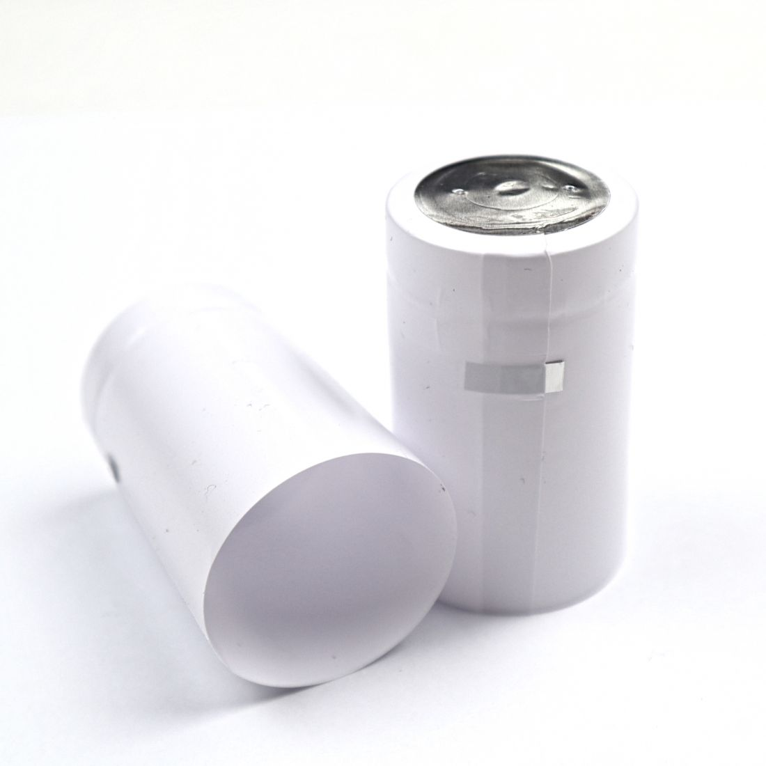 Термоусадочный колпачок белый 50х30 мм, (10 шт)