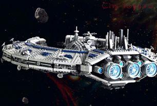 Конструктор  MOULD KING Линейный корабль типа «Барышник» 21008 3663 дет