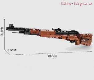Конструктор  MOULD KING Снайперская винтовка — Mauser 98K 14002  1025 дет