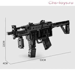Конструктор  MOULD KING Пистолет-пулемет — HK MP5 14001 783 дет