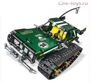 Конструктор MOULD KING Радиоуправляемый зеленый автомобиль с ДУ через смартфон 13026  626 дет
