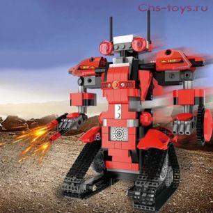 Конструктор радиоуправляемый MOULD KING Красный Робот 13001 390 дет