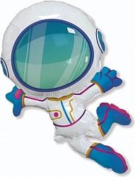 Шар (38''/97 см) Фигура, Космонавт в невесомости, 1 шт.
