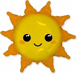 Шар (31''/79 см) Фигура, Солнце, 1 шт.