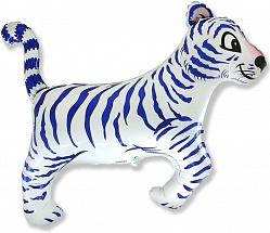 Шар (36''/91 см) Фигура, Тигр, Белый, 1 шт.