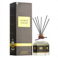 """Аромадиффузор с палочками Ajmal""""Amber Wood"""" 100 ml"""