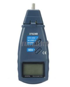 DT6236B Тахометр контактно-бесконтактный