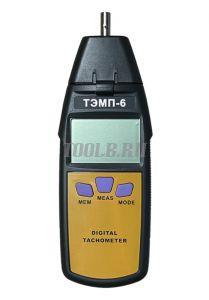 ТЕТРОН ТЭМП-6 Тахометр контактно-бесконтактный цифровой