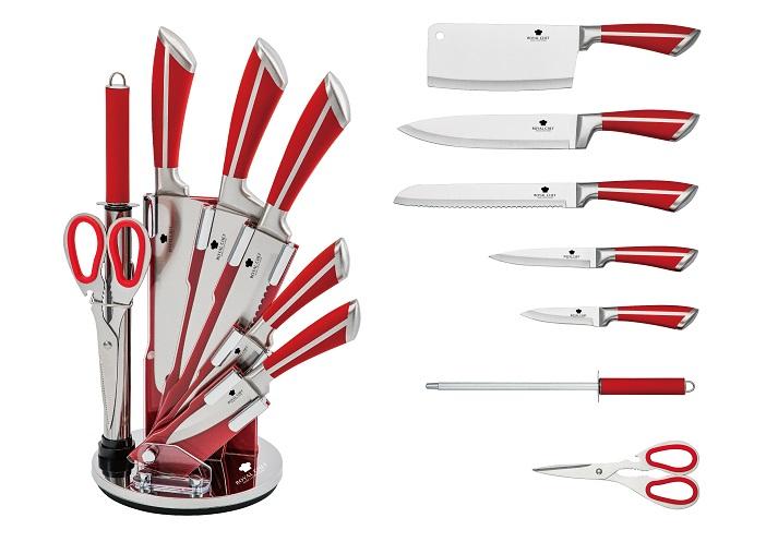 Набор ножей нерж.сталь на подставке Royal Chef
