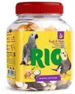 Rio Фруктово-ореховая смесь Лакомство для всех видов птиц (160г)