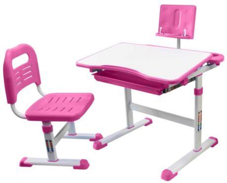 Комплект «Rifforma» SET-17: парта + стул + подставка для книг