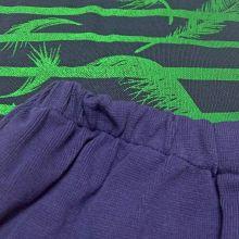 Ткань лакоста с пальмами