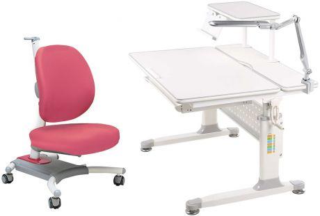 Комплект «Rifforma» SET-90L с полкой: Парта + Кресло + Полка + Лампа