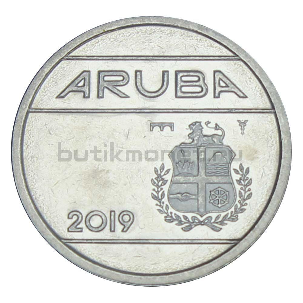 25 центов 2019 Аруба