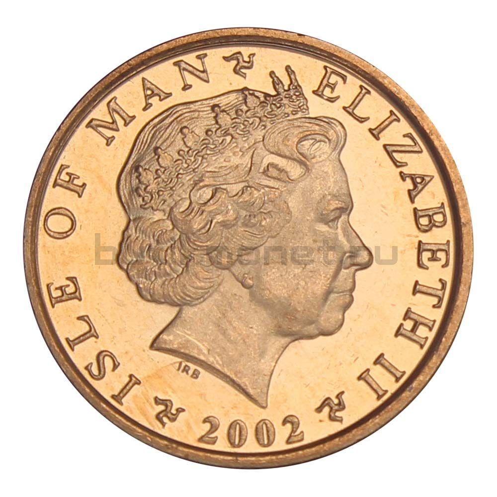 1 пенни 2002 Остров Мэн