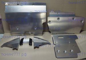 Защита картера и АКПП, алюминий 4мм для 3.0d