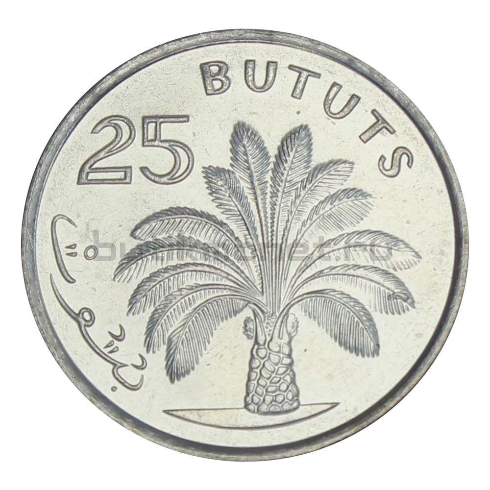 25 бутутов 1998 Гамбия