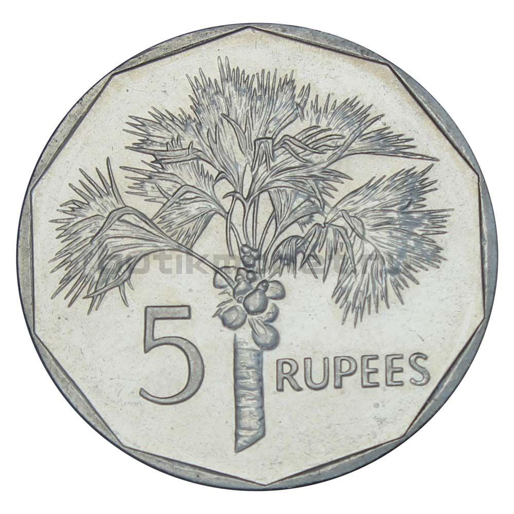 5 рупий 2010 Сейшелы