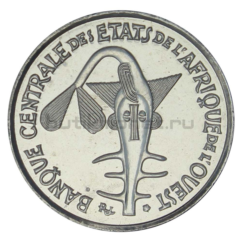 50 франков 2009 Западная Африка