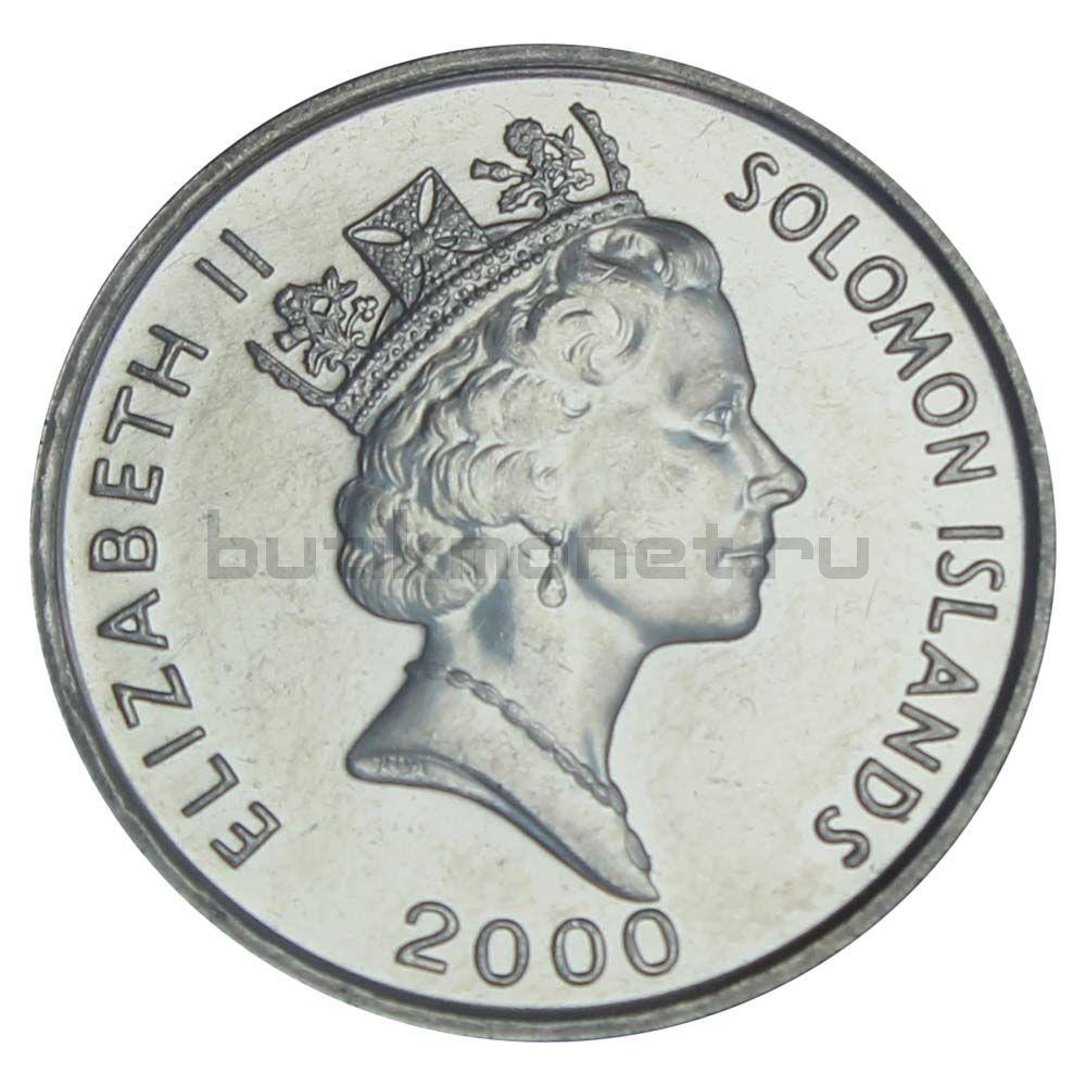 10 центов 2000 Соломоновы острова