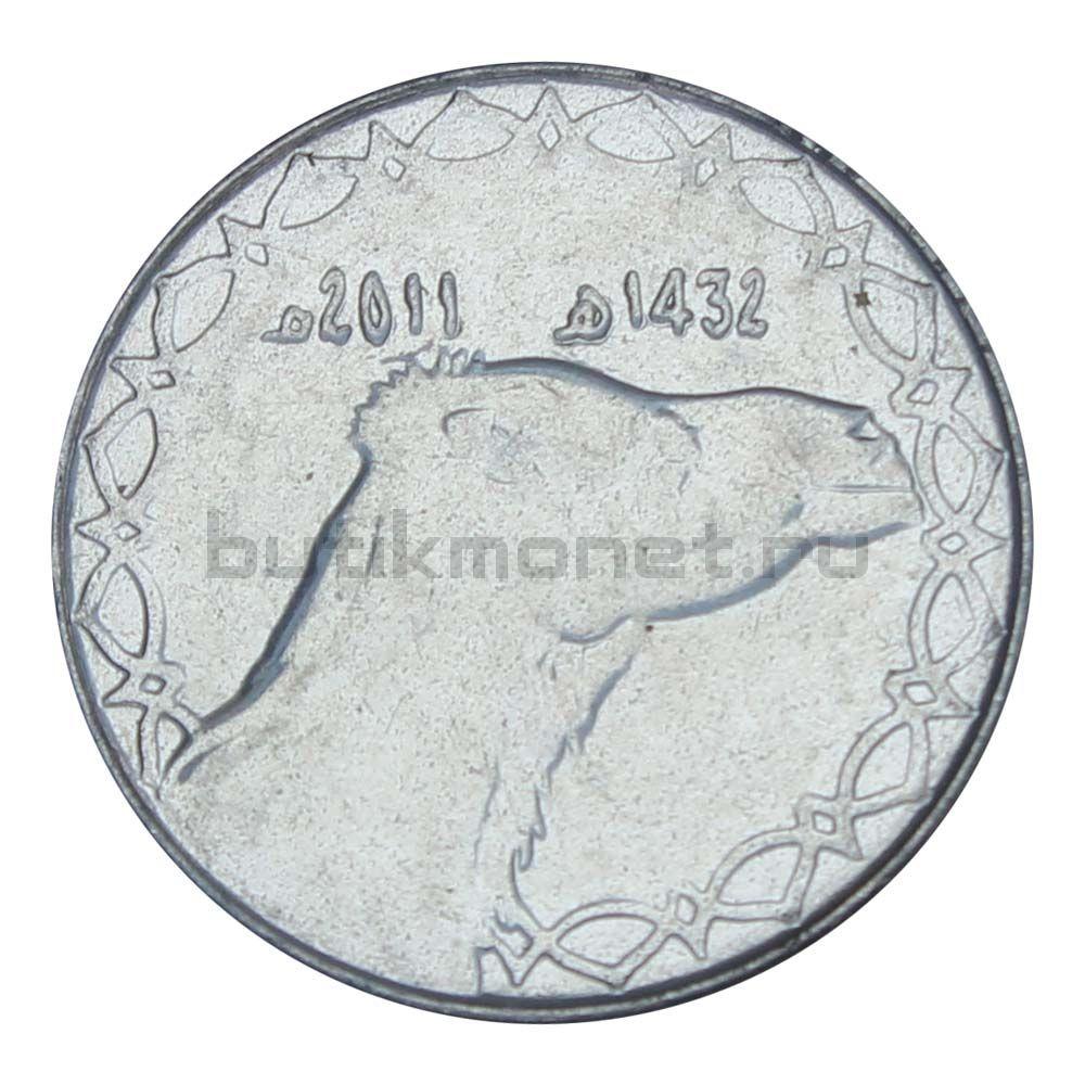 2 динара 2011 Алжир
