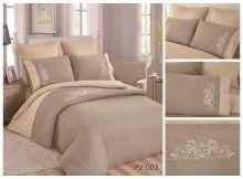 Постельное белье Перкаль с вышивкой 1.5-спальный Арт.PV-003-1