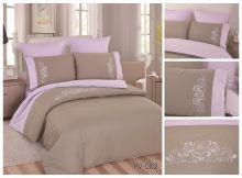 Постельное белье Перкаль с вышивкой 2-спальный Арт.PV-002-2