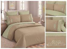 Постельное белье Перкаль с вышивкой семейный Арт.PV-004-4