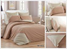 Комплект постельного белья Перкаль с кружевом  1.5-спальный  Арт.PK-004-1