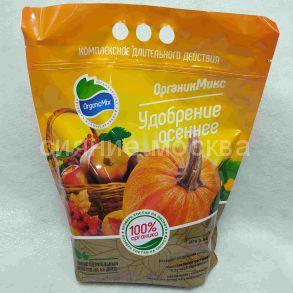 ОрганикМикс удобрение Осеннее, 2,8 кг