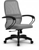 Кресло Метта SU-C-8/подл.100/осн.001 Светло-серое