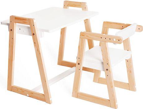 Комплект детской растущей мебели Лофт 3 в 1
