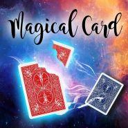 """Карточный гиммик """"Уголок"""" Magical Card (восстановление карты)"""