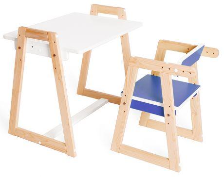 Комплект детской растущей мебели Краски
