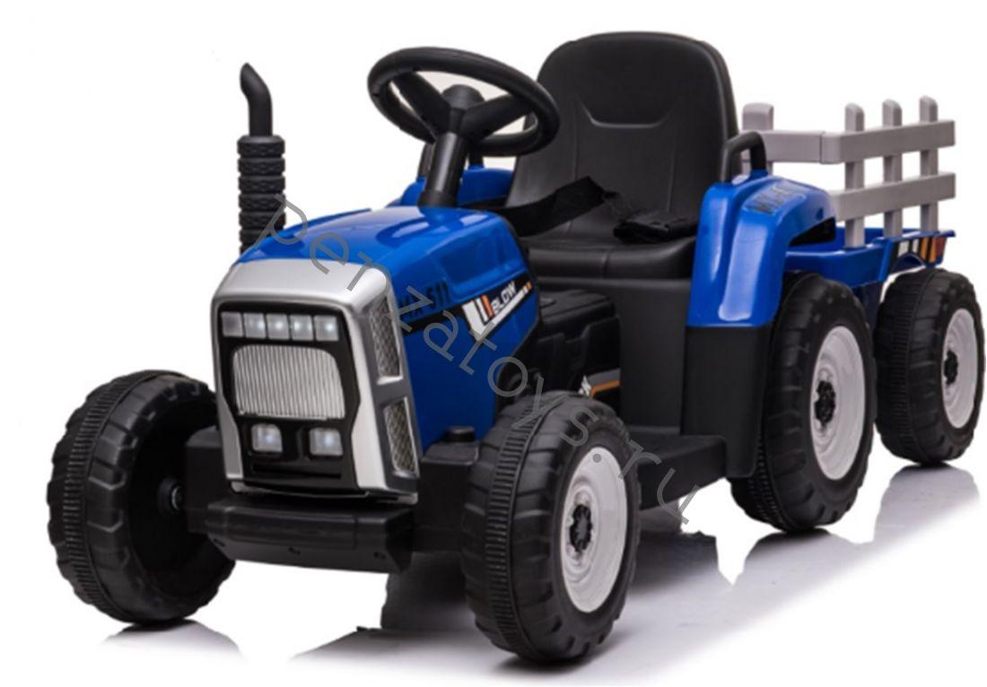 Электромобиль детский Трактор H888HH с прицепом
