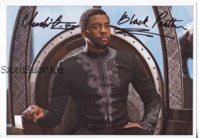 Автограф: Чедвик Боузман. Чёрная Пантера. Редкость