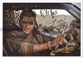 Автограф: Том Харди. Безумный Макс: Дорога ярости