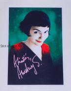 Автограф: Одри Тоту. Амели / Le Fabuleux destin d'Amélie Poulain
