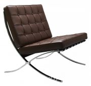 Кресло BARCELONA CHAIR коричневый