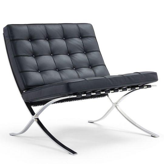 Кресло BARCELONA CHAIR чёрный