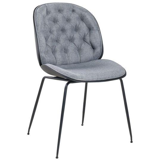 Стул Beetle lounge серый