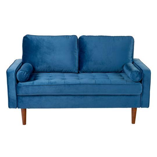 Диван Scott двухместный синий