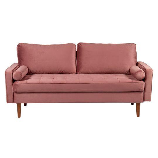 Диван Scott трехместный пыльно-розовый