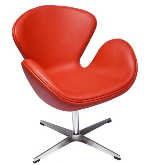 Кресло SWAN CHAIR красный