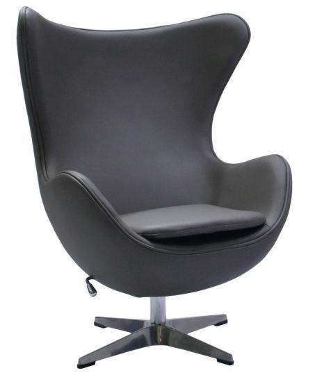 Кресло EGG CHAIR серый