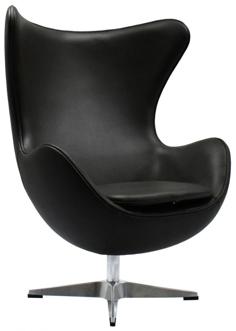 Кресло EGG CHAIR чёрный
