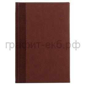 Ежедневник датир.А5 Portobello Velvet коричневый 22022.121