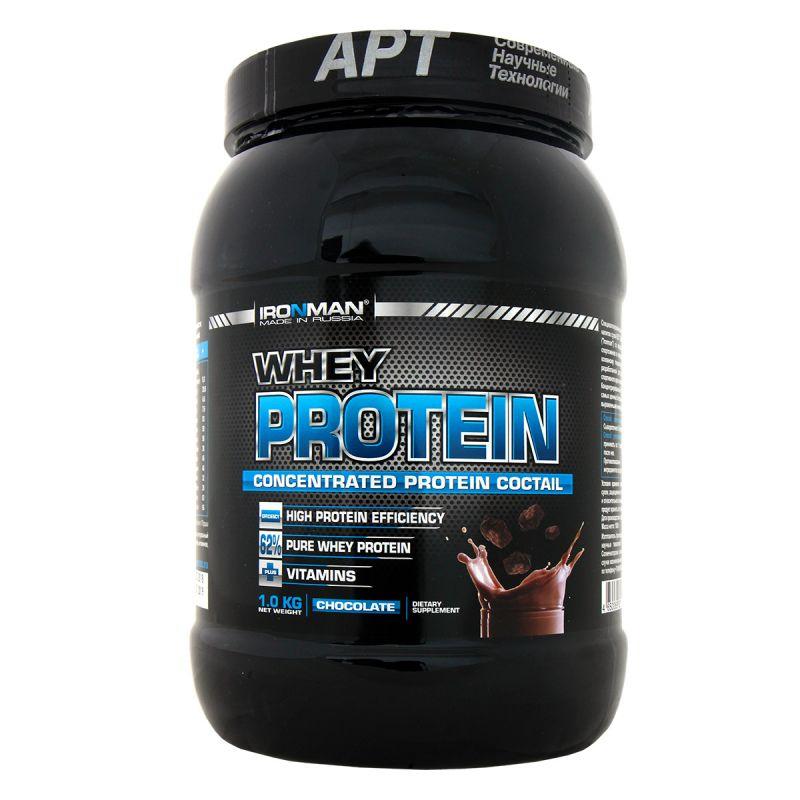 Whey Protein IRONMAN 1 кг