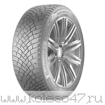 255/40R19 100T XL FR Continental Ice Contact 3